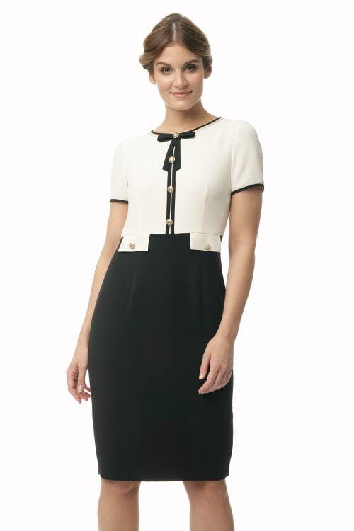 Elegancka sukienka z patkami Ola