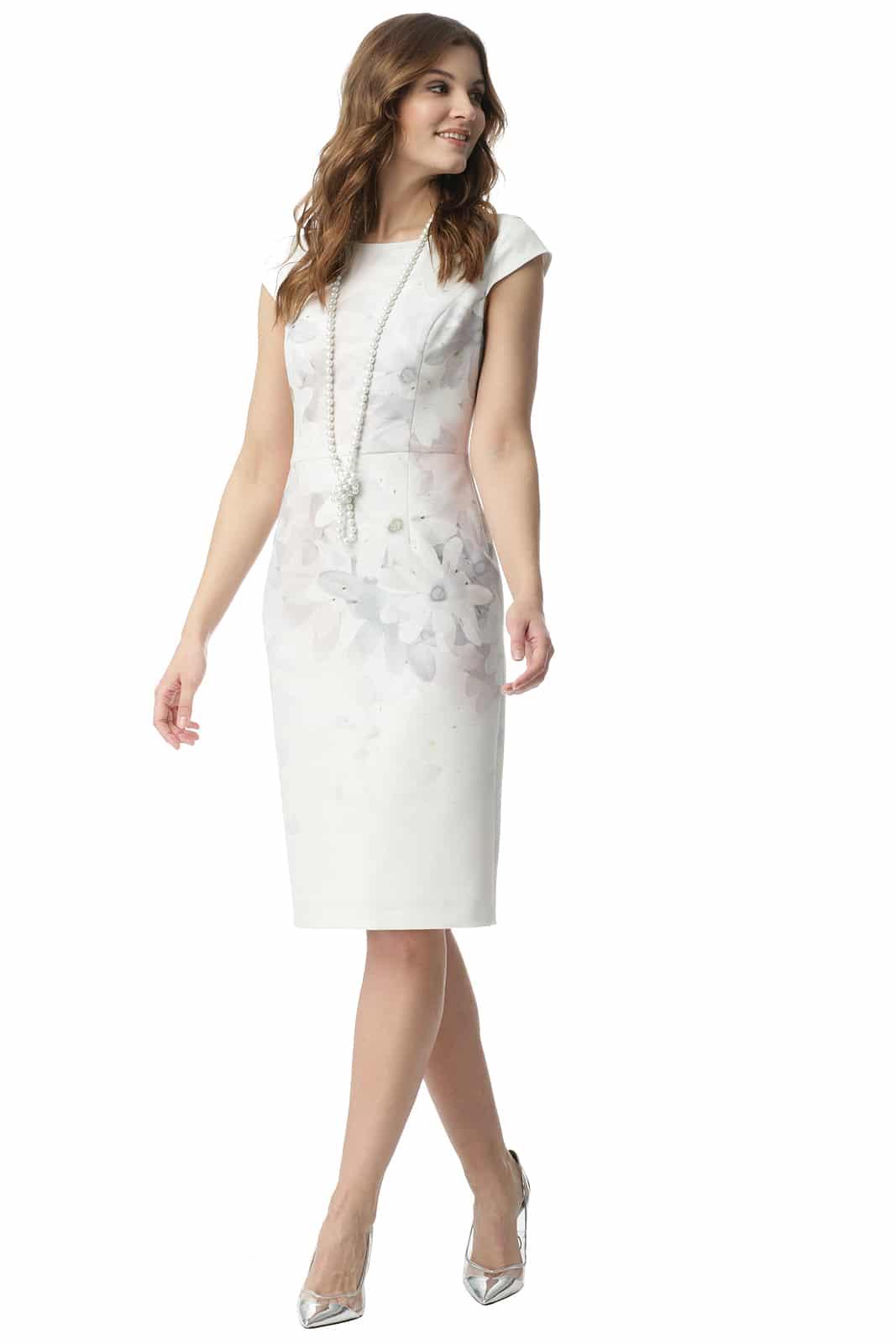 4ec9b07076 Sukienka w pastelowe kwiaty Renata - Modesta - ponad 30 lat na rynku