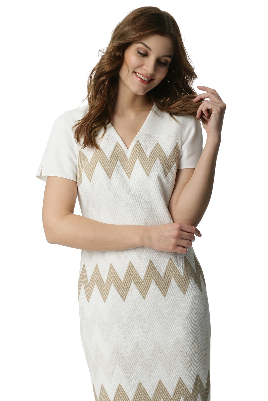 bd73d46227 Sukienka w zygzaki Zyta - Modesta - ponad 30 lat na rynku