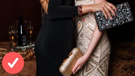Do eleganckich stylizacji tylkomała torebka.